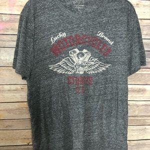 Lucky Brand Indian Motorcycle T Shirt
